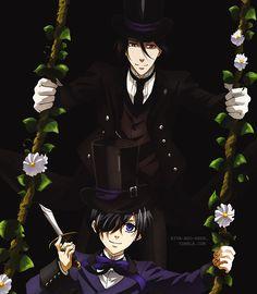 kuroshitsuji book of murder | Tumblr