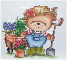 Bear Cartoon, Cute Images, Digital Stamps, Card Making, Cute Animals, Teddy Bear, Scrapbook, Christmas Ornaments, Holiday Decor