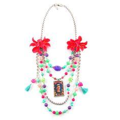 Flowering Frida Necklace   Sweetlime