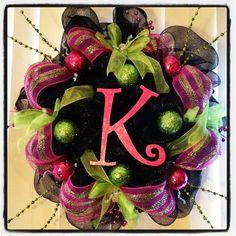 mesh wreaths | Deco Mesh Wreath | Wreaths
