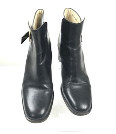 7c24986571b Gidigio Women s  240 Ankle Boots Size EU 38.5 US 8.5 Made In Italy Leather  Black