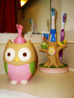 Our OWL Bathroom Theme.