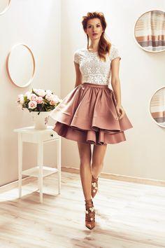 Cremona Blouse / Cavinia Skirt