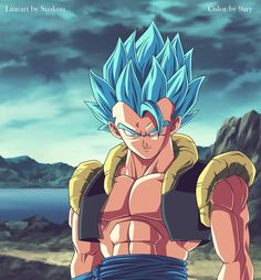 gogeta dragon ball super by 9ary on @DeviantArt