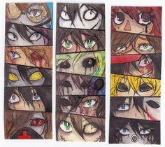 Creepypasta's eyes by servantofpsychotic on DeviantArt