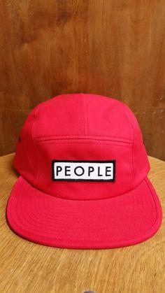 99674eecc9f People Boxting 5 panel hat cardinal