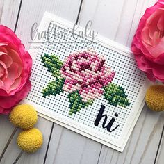 Thrilling Designing Your Own Cross Stitch Embroidery Patterns Ideas. Exhilarating Designing Your Own Cross Stitch Embroidery Patterns Ideas. Cross Stitch Beginner, Mini Cross Stitch, Cross Stitch Cards, Cross Stitch Rose, Counted Cross Stitch Kits, Stitching On Paper, Cross Stitching, Cross Stitch Embroidery, Cross Stitch Patterns