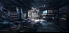 Concept Art crysis 2 by dennis chan