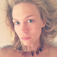 It's always fun to wake up with your jewels on. Prickly but fun. Makes you feel serious. @ireneneuwirth I can't figure out how to take the fucker off. It's pretty serious about wanting to keep me. —@januaryjones   - ELLE.com