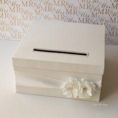 card box idea- simple with bow