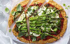 Resepti: pizzapohja porkkanasta