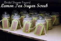 I love this idea! You can access the tutorial at http://sewwoodsy.com/2012/02/bridal-shower-favors-lemon-tea-sugar-scrub.html/lemon-tea-sugar-scrub-14 or check out Mark Motano's Big Ass Book of Crafts, which I own and totally love!