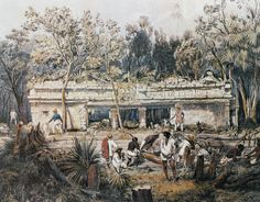 John Lloyd Stephens and Frederick Catherwood were Maya explorers of the 19th century, who made the ancient Maya known to the wide public in Europe and United States...