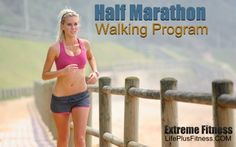half marathon walking program