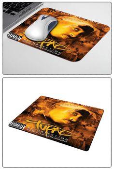 custom Selling american rapper tupac shakur laptop speciale Stile laptop gamer gaming optical laser antiscivolo pc mouse pad