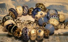 The Anytime Bracelet.  This is not my Trollbead design, but I like it.
