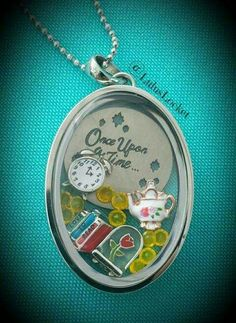 Disney's Beauty and the Beast Locket SparkleWithJennifer.OrigamiOwl.com