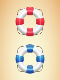 In this Adobe Illustrator tutorial you will learn how to create a semi-realistic lifebuoy graphic. #tutorial #illustrator