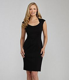 Maggy London CapSleeve LBD Dress #Dillards