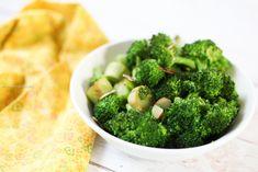 Receta para preparar brócoli en menos de 20 minutos.