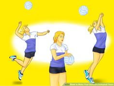 Image titled Make Your School's Volleyball Team Step 2