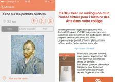 BYOD-Créer des audioguides