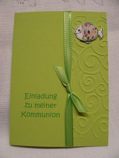 Einladungskarten Kommunion Selber Basteln Kostenlos | Einladungskarten  Hochzeit | Pinterest