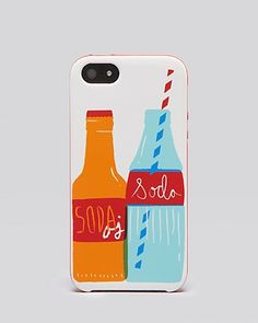 my newest FUN purchase!!!! :) Kate Spade iPhone 5 Case - Soda Bottles -- VERY sleek and definitely not bulky. Not a bad price either!! There are tons of fun different ones!! :)