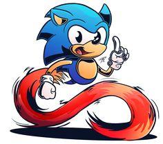 Sonic Mania Hype by PattiethePentist on DeviantArt Hedgehog Art, Sonic The Hedgehog, Classic Sonic, Sonic Mania, Sonic Heroes, Sonic Art, Great Videos, Geek Stuff, Artist