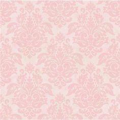 CKB77721 Red Peony Damask Wallpaper - Kitchen, Bed, & Bath by Chesapeake