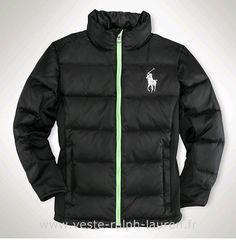 69332082915717 Polo officiel - Ralph Lauren doudoune hommes pas cher 2013 big pony coton  casual noir Ralph