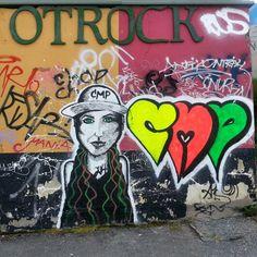 Streetart - svartlamon - Trondheim