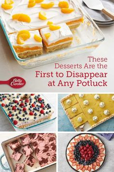Desserts That'll Get the Potluck Talking No Cook Desserts, Sweets Recipes, Just Desserts, Delicious Desserts, Yummy Food, Batch Cooking, Cooking Tips, Cooking Recipes, Orange Dessert