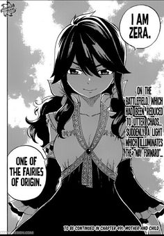 Does Zera has returned for good or something bad will happen?  Omggsss!! I badly want to know what will happen next!!  ~Fairy Tail