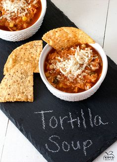 Crock Pot Chicken Tortilla Soup TRIED: I personally thought it was a little too spicy for me, but everyone that tried it who enjoyed spicy food LOVED it. Definitely a keeper!