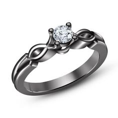 Round Cut Diamond Three Stone DVVS1 Diamonds Solitaire Enhancer Engagement Wedding Band in 14K White Gold Finish T.W 1.20 CT