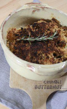 Crumble salé au butternut