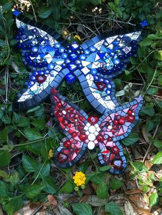 Mosaic Butterflies | Flickr - Katie Waller
