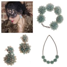 To complement that little black dress | These are the perfect shade of turquoise: soft enough to complement any outfit yet still bright enough to pop. Round out the wow factor with some red lipstick and a black dress. Made in Brooklyn, NY and available at  http://marketplace.newyorkstatesofmind.com/