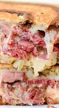 My Favorite Reuben Sandwich