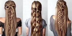Stunning Braids for Brides!