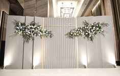 Not to mention wedding decoration. Because wedding decors give important tips to the guests in terms of reflecting the style of the couple to be married. Wedding Backdrop Design, Wedding Stage Design, Wedding Hall Decorations, Wedding Reception Backdrop, Backdrop Decorations, Backdrops, Wedding Photo Walls, Wedding Wall, Wedding Directions