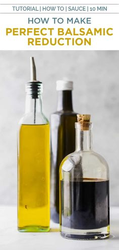 """Learn how to make a Balsamic Reduction using only 1 ingredient. This easy reduction sauce will be your new """"go to"""" recipe to top off any dish Paleo Recipes Easy, Clean Eating Recipes, Fall Recipes, Balsamic Reduction, Beef Tips, Grilled Peaches, Easy Cooking, Cooking Tips, Cooking Recipes"""