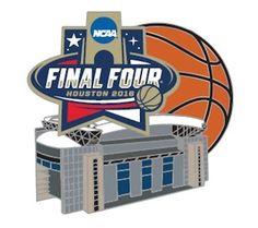 NCAA 2016 Final Four (Houston) Stadium Lapel Pin #aminco #NCAA