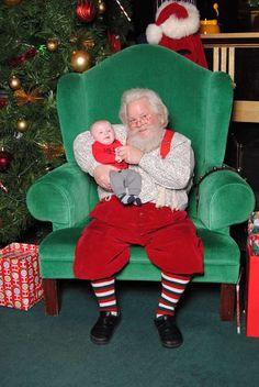Mavericks first santa visit