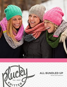 All Bundled Up!   http://www.ravelry.com/patterns/sources/all-bundled-up---a-plucky-knitter-collection/patterns