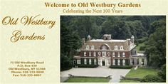 Old Westbury Gardens Pass Details: 71 Old Westbury Road Old Westbury, NY 11568  (516) 333-0048  - Admits 2 adults and all children  - 10% discount in the Garden Gate Plant Shop and Gift Shop  - Free Parking