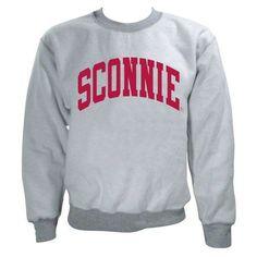 Sconnie Inside Out Crewneck Sweatshirt - Sport Grey