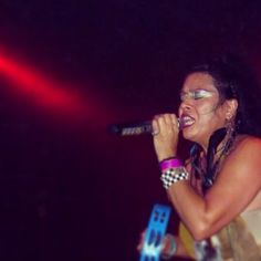 Annabella Lwin of Bow Wow Wow.