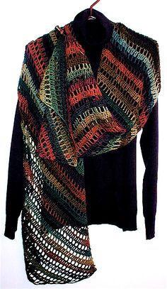 Clapochet Shawl By Crochet Kitten - Free Crochet Pattern - (ravelry)